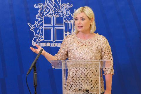 Minister of Education Lilja Dögg Alfreðsdóttir.