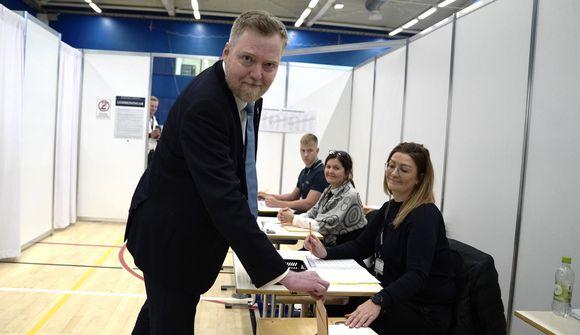 Telur líklegt að fylgið verði meira