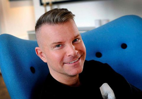 Páll Óskar Hjálmtýsson skilaði sköminni um helgina.