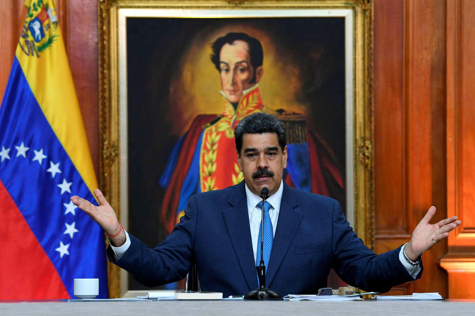 Ummæli Maduro hafa vakið upp hörð viðbrögð enda bendir margt …