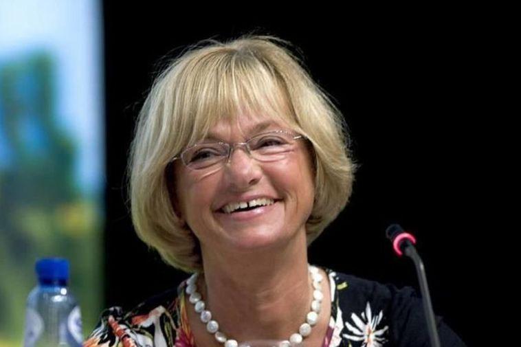 Pia Kjærsgaard, speaker of the Danish parliament.