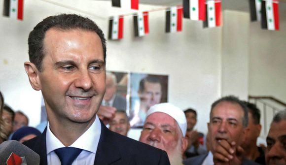 Assad endurkjörinn forseti Sýrlands