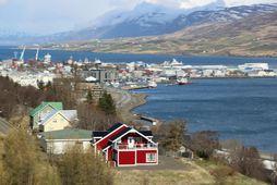 Akureyri er fallegur bær.