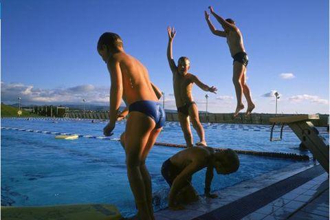 Lágafellslaug Swimming Pool