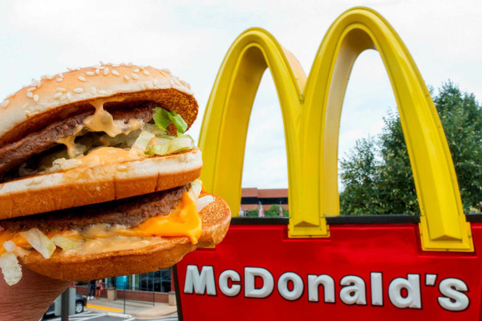 Starfsfólk McDonald's í Austurríki hefur nú fengið það verkefni að …