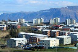 Íbúðabyggðir í Kópavogi.