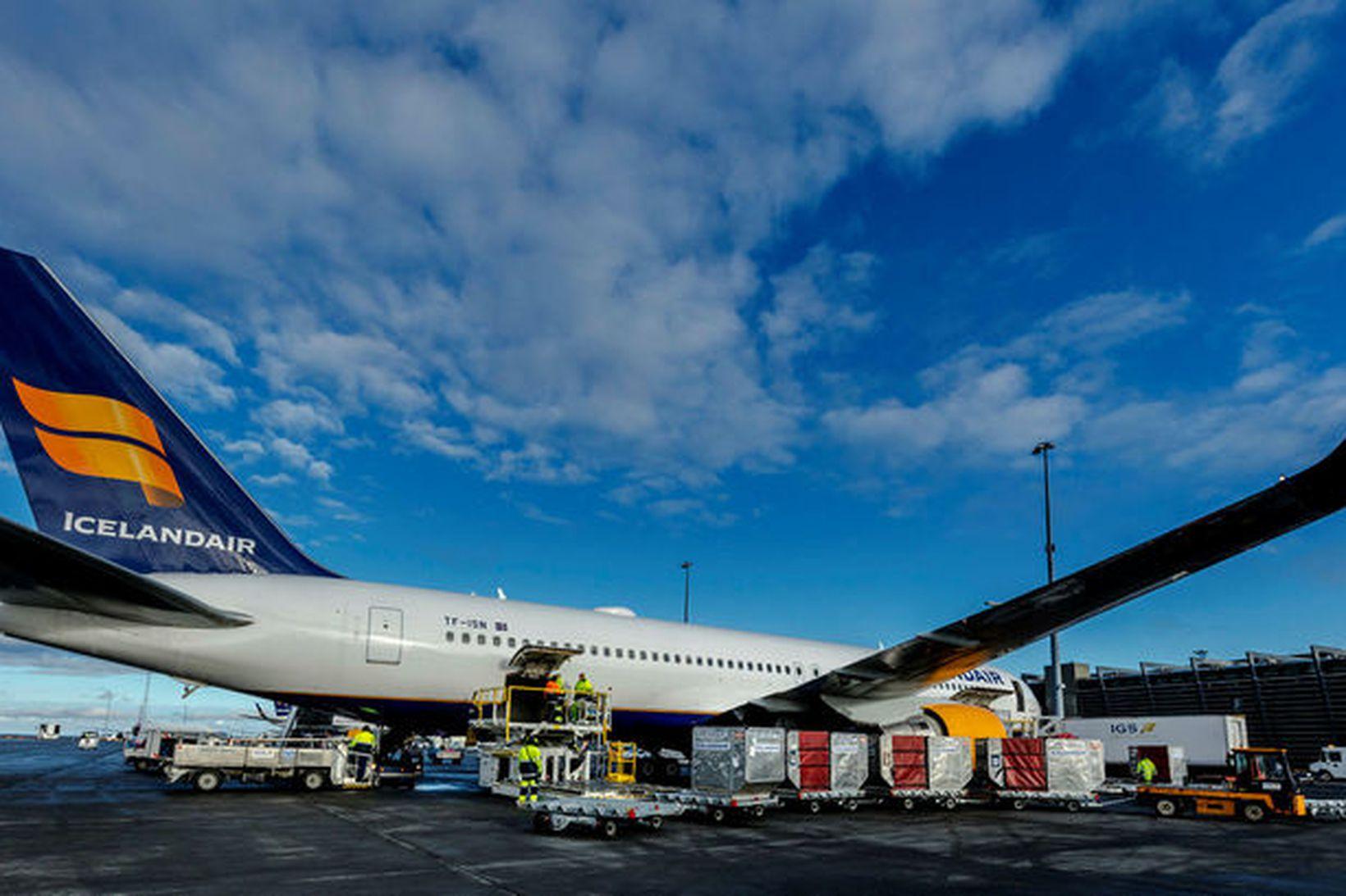 Sviptingar hafa verið í rekstri Icelandair á þessu ári.