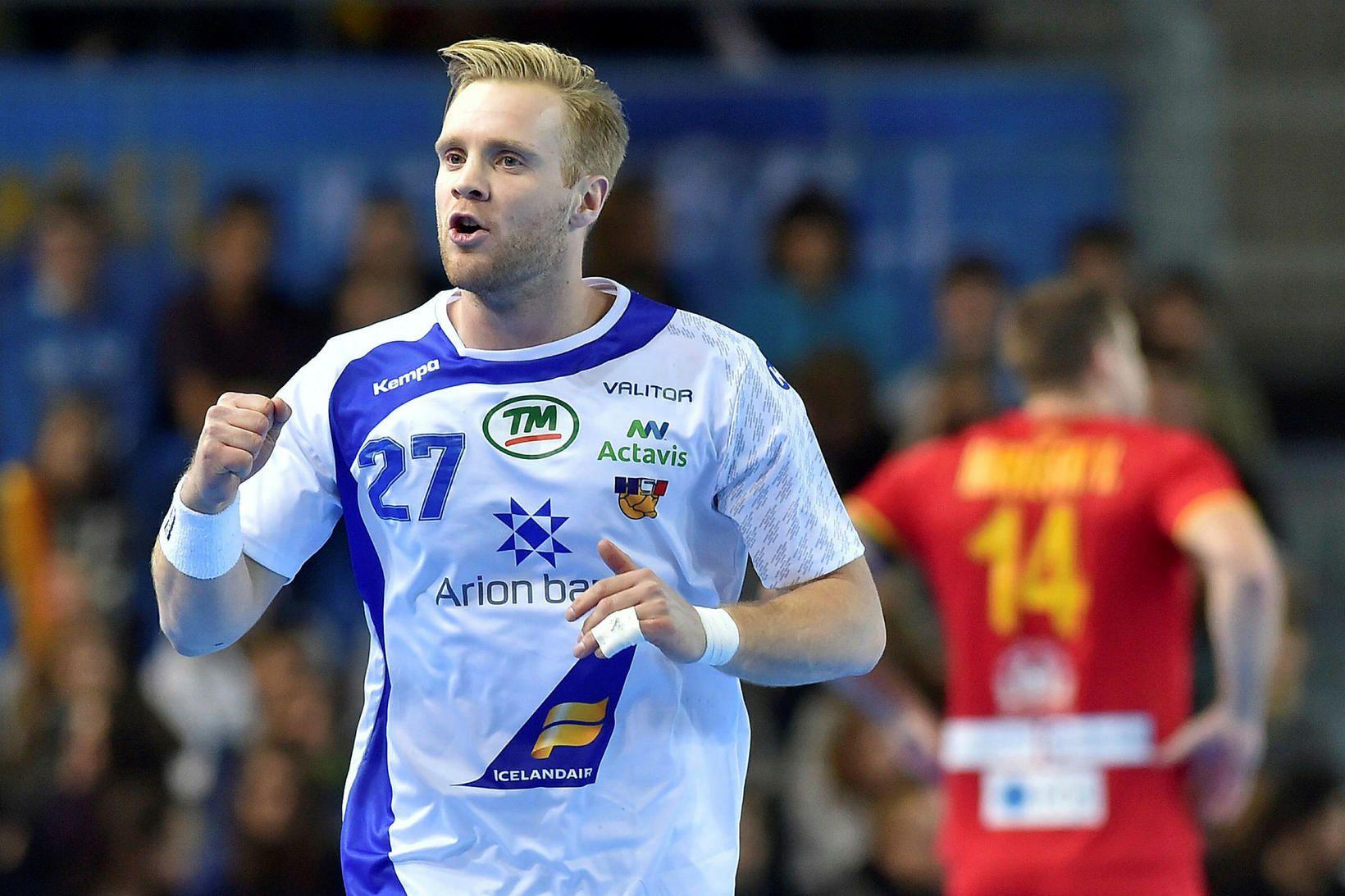 Gunnar Steinn Jónsson skoraði fjögur mörk fyrir Ribe-Esbjerg.