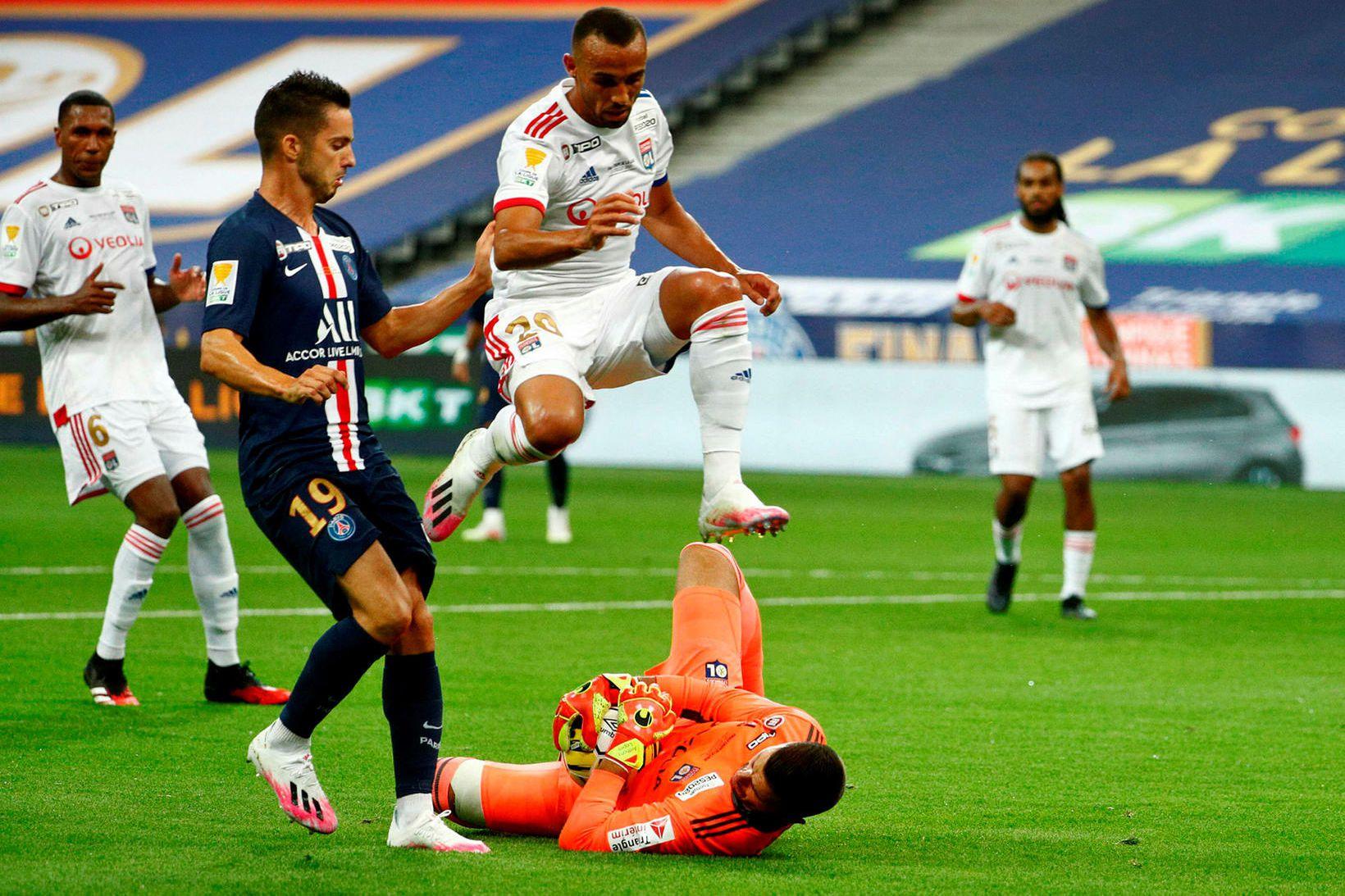 PSG er deildabikarmeistari eftir sigur á Lyon.