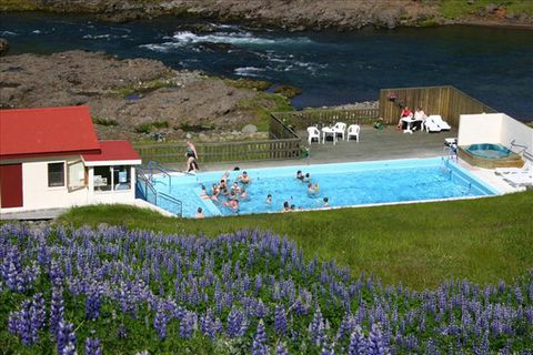 Selá river  in Vopnafjörður