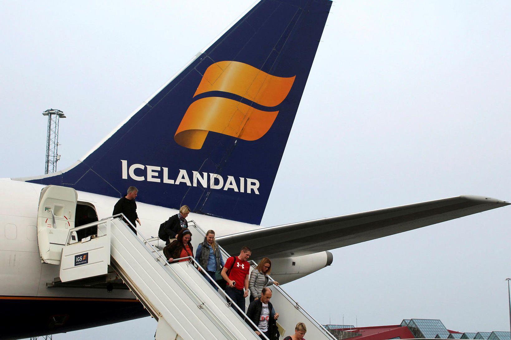 Umframeftirspurn var eftir bréfum í Icelandair í hlutafjárútboði félagsins, sem …