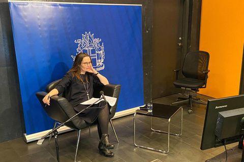 PM Katrín Jakobsdóttir.