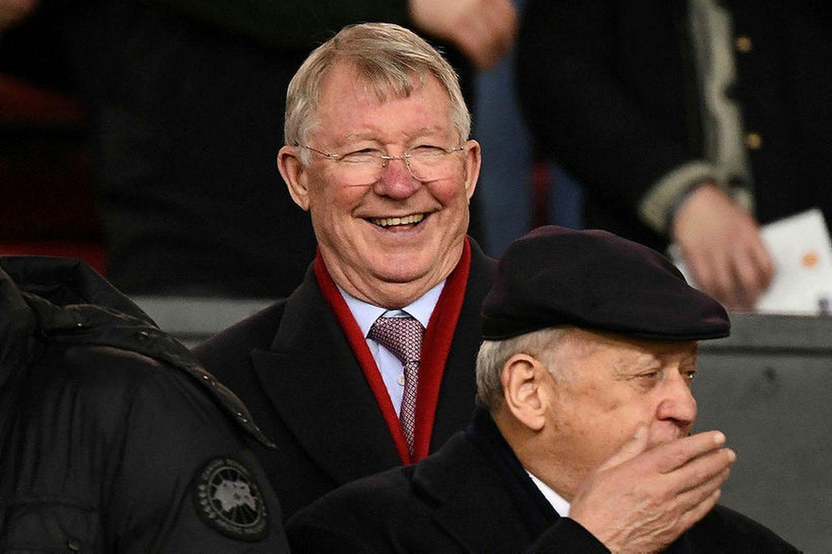 Sir Alex Ferguson er einn sigursælasti knattspyrnustjóri sögunnar.