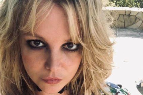 Britney Spears er búin í jólaklippingunni.