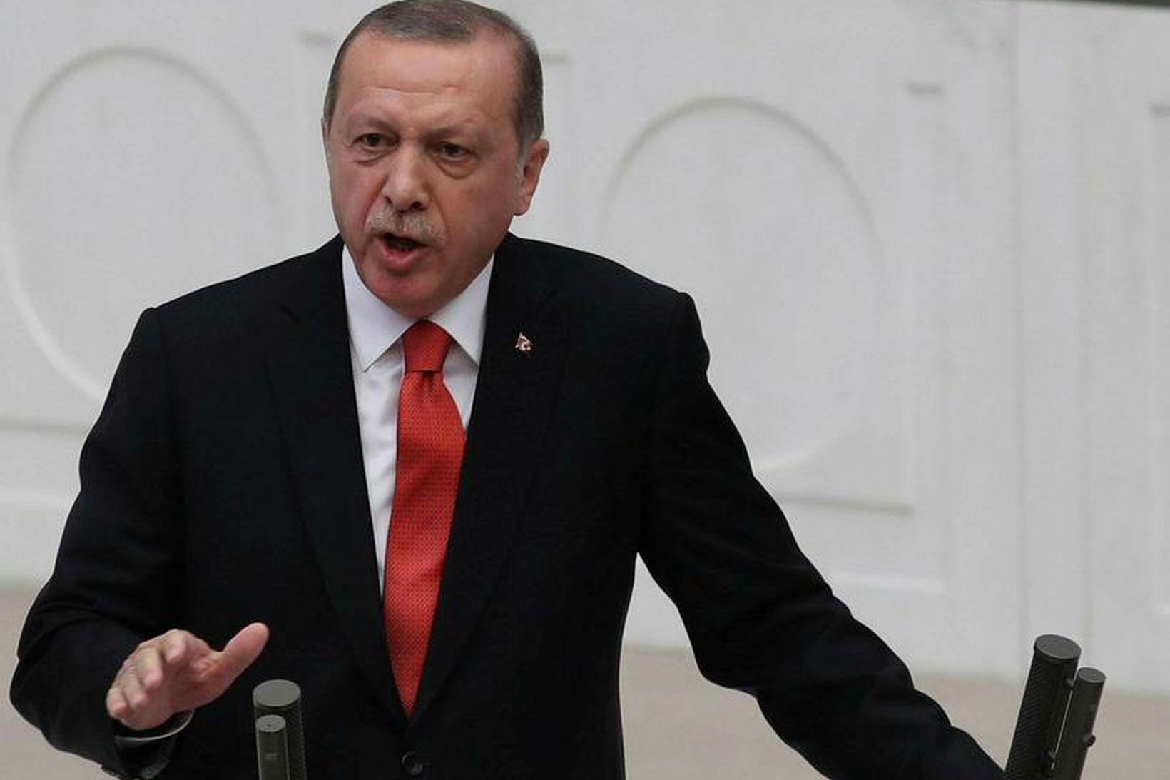 Recep Tayyip Erdogan Tyrklandsforseti segir Tyrkland ekki þurfa á ESB …