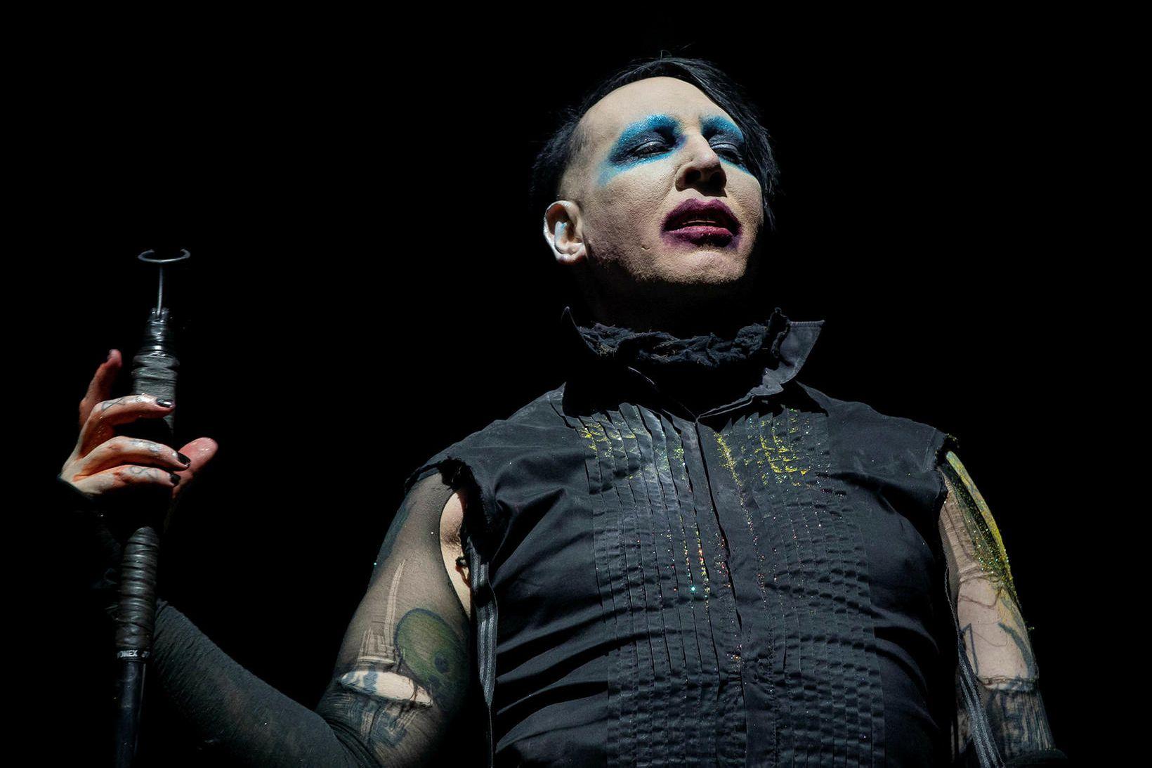 Ashley Walters hefur sakað Marilyn Manson um kynferðisofbeldi, kynferðislega áreitni …