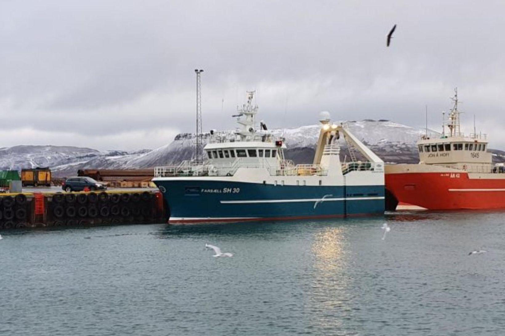 Farsæll landaði 54 tonnum í Grundarfirði eftir sex daga túr.