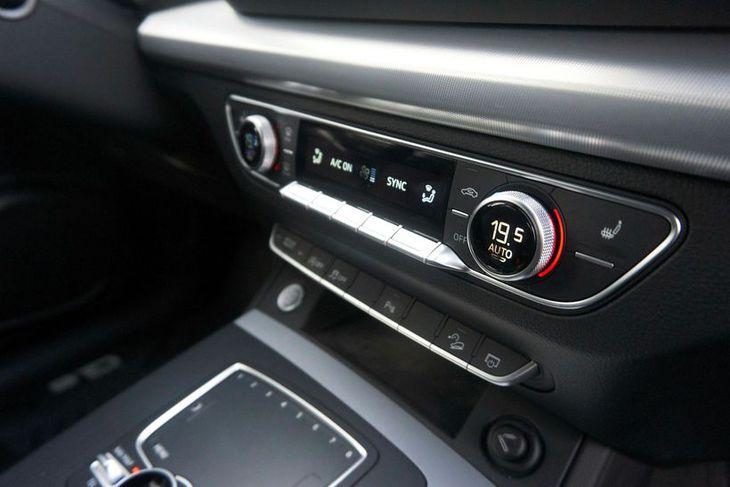 Loftræsting í Audi Q5.