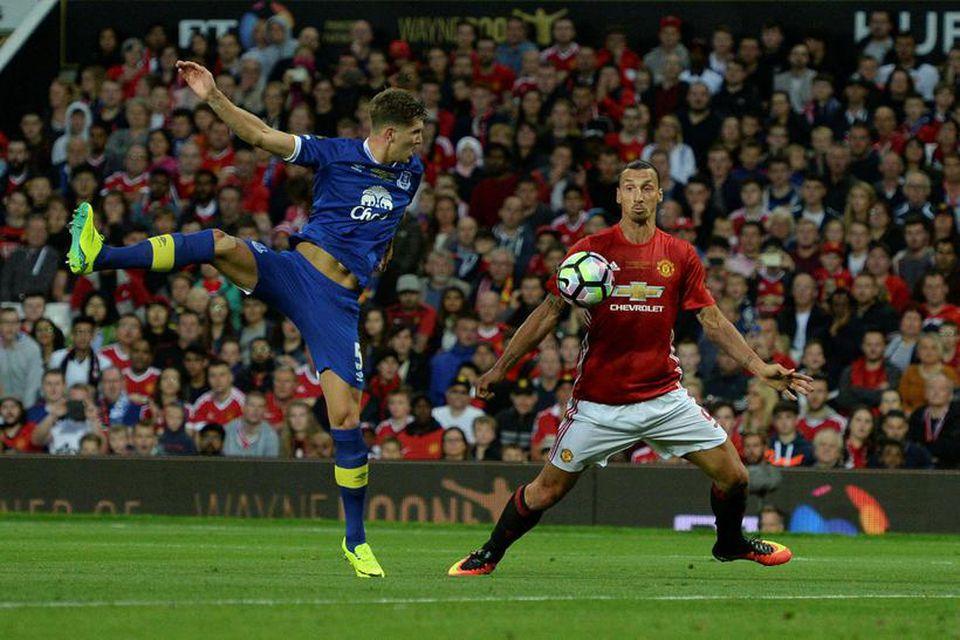 John Stones er kominn til Manchester City frá Everton fyrir 47,5 milljónir punda og Zlatan ...