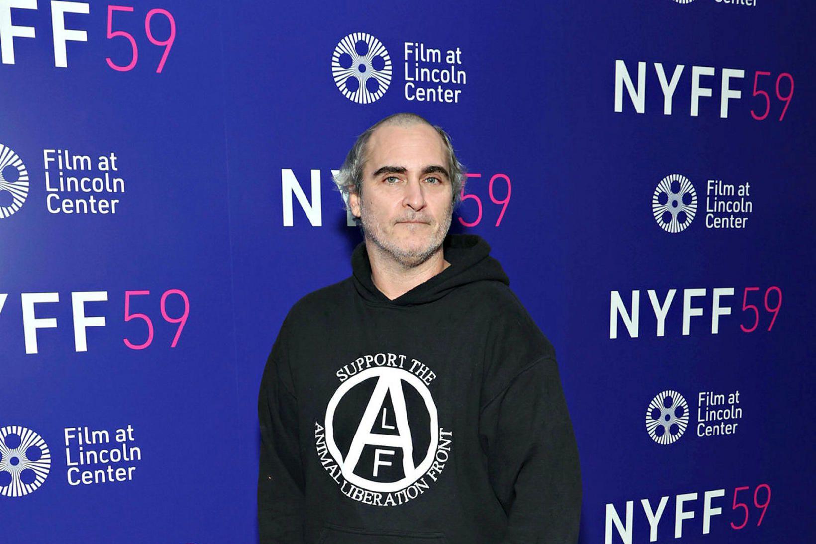Joaquin Phoenix sýndi nýja klippingu á Kvikmyndahátíðinni í New York …