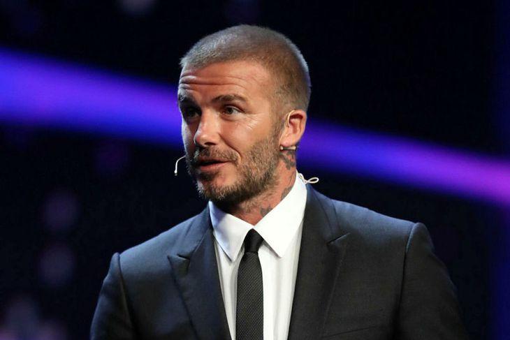 David Beckham æfði eitt sinn hjá Shonu Vertue
