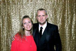 Katrín Rut Bessadóttir og Helgi Seljan eignuðust son á föstudaginn.
