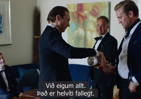 Skjáskot úr þáttunum Exit sem sýndir eru á RÚV.