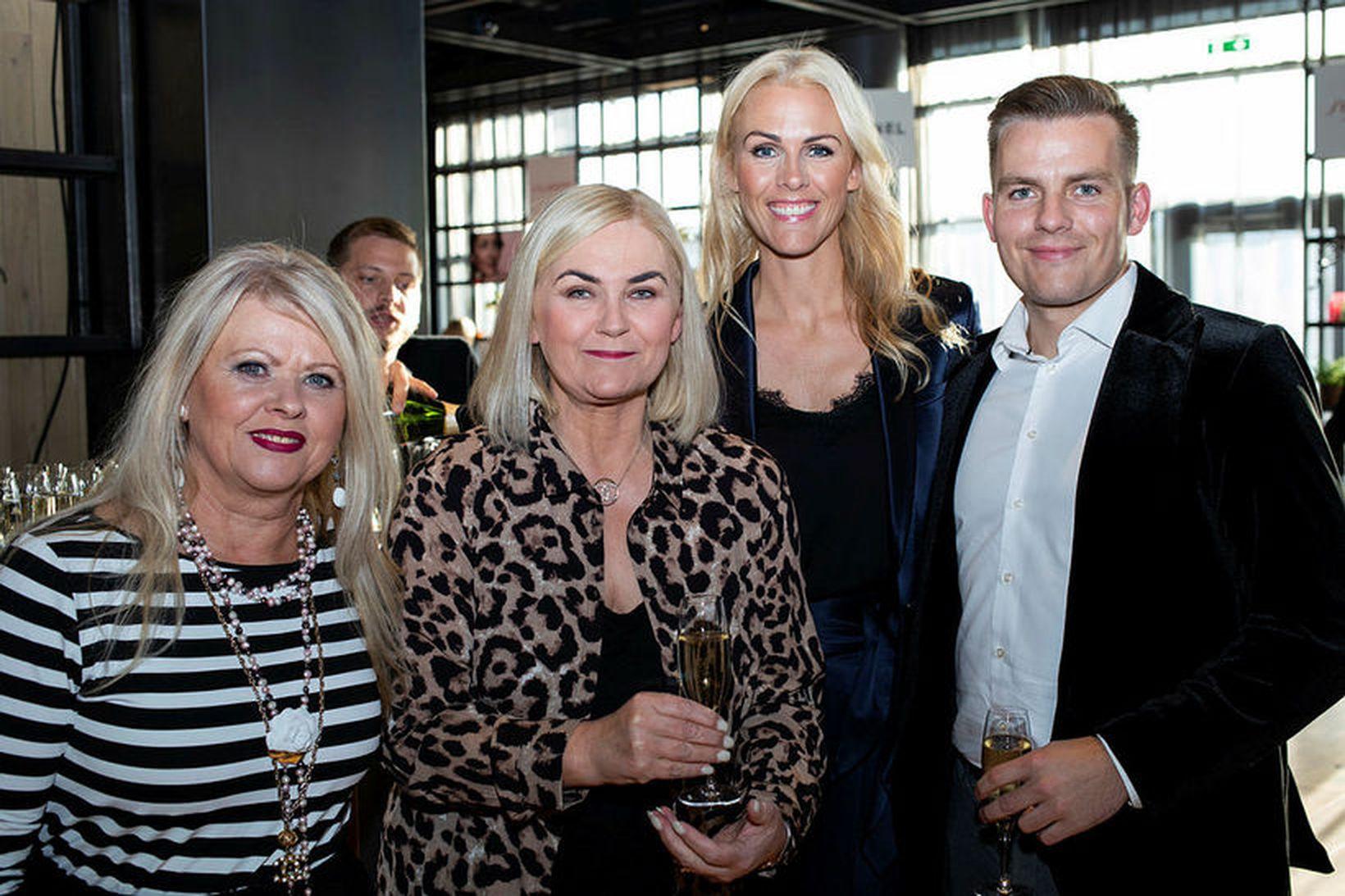 Gréta Boða, Stefanía Eggjertsdóttir, Christina og Kristófer Páll Lentz.