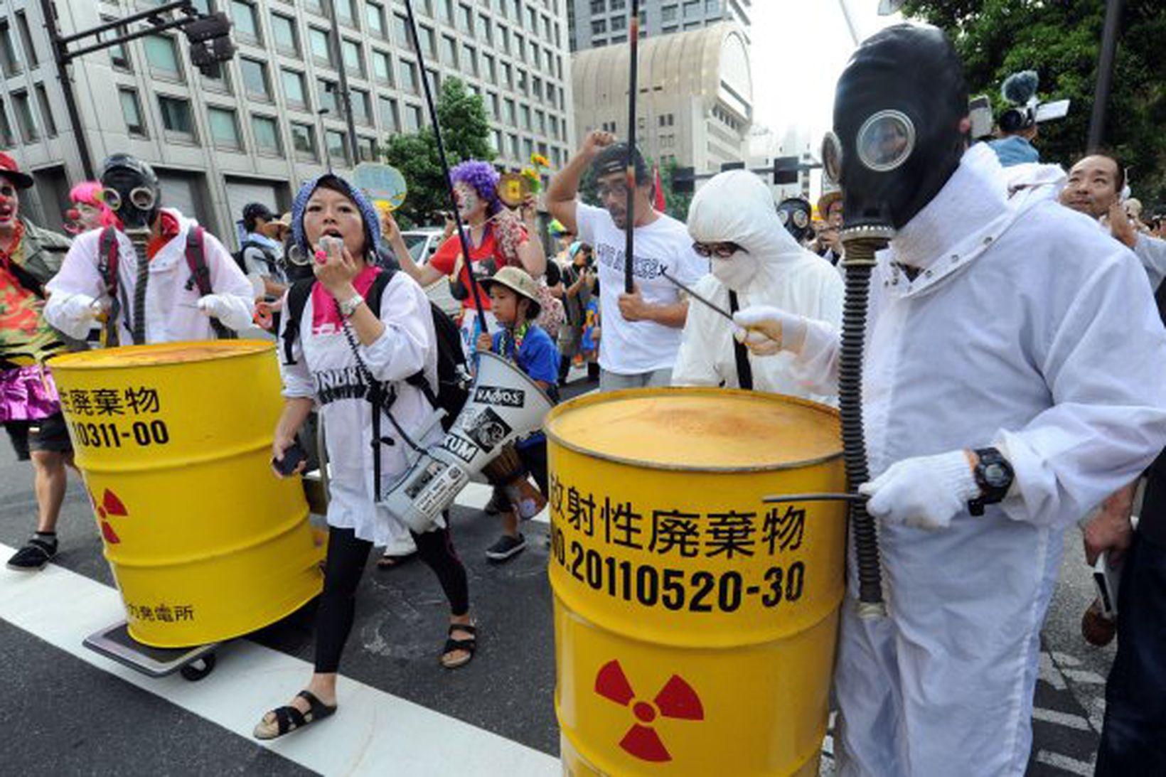 Almenningur í Japan hefur snúist gegn kjarnorku eftir Fukushima-slysið árið …