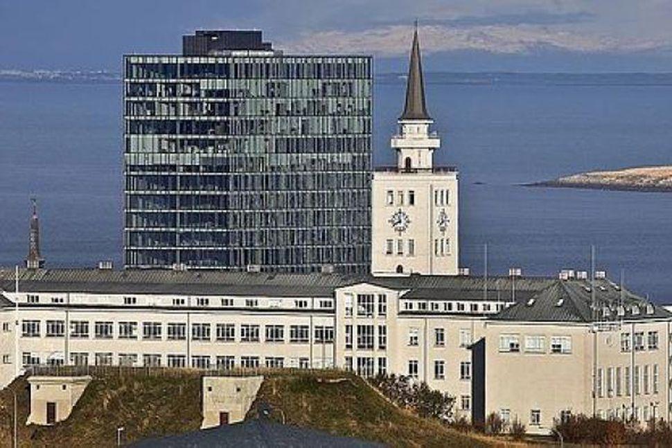 Vitinn og turninn við Höfðatorg.