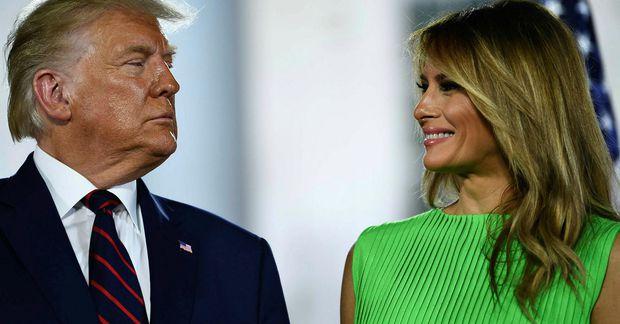 Donald og Melania Trump giftu sig fyrir rúmlega 15 árum.