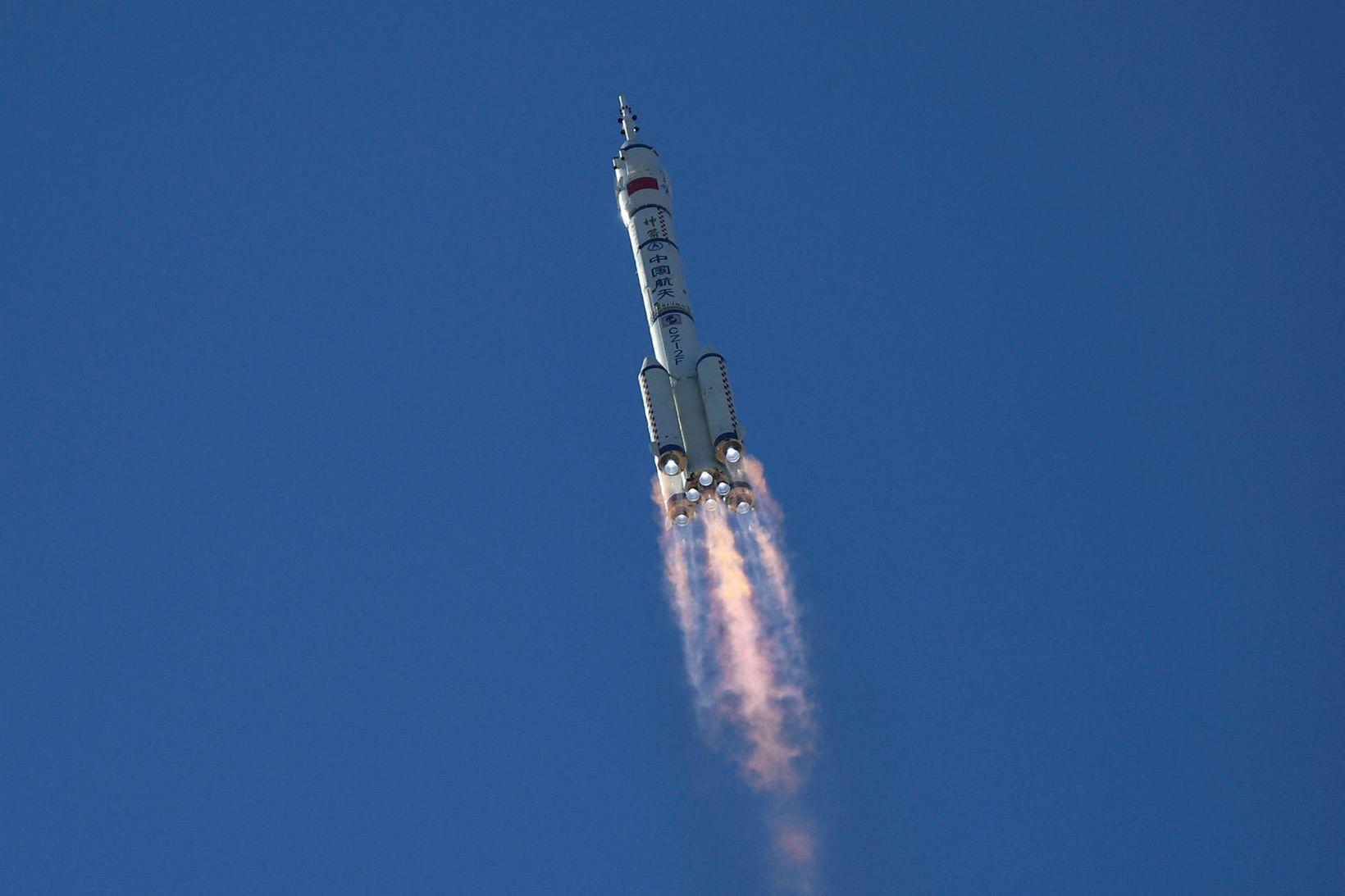 Shenzhou-12 geimskutlan.