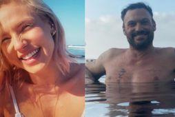Shana Burgess og Brian Austin Green njóta lífsins á Havaí.