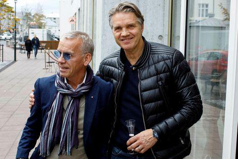 Kjartan Kristjánsson og Sævar Jónsson.