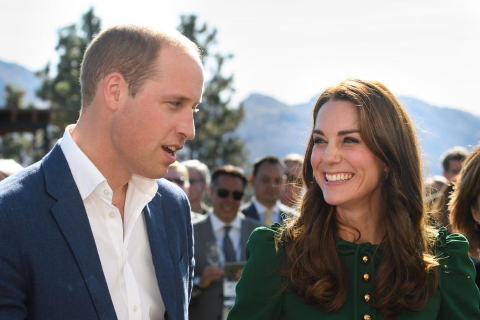 Kate Middleton og Vilhjálmur prins - eru miklir matgæðingar.