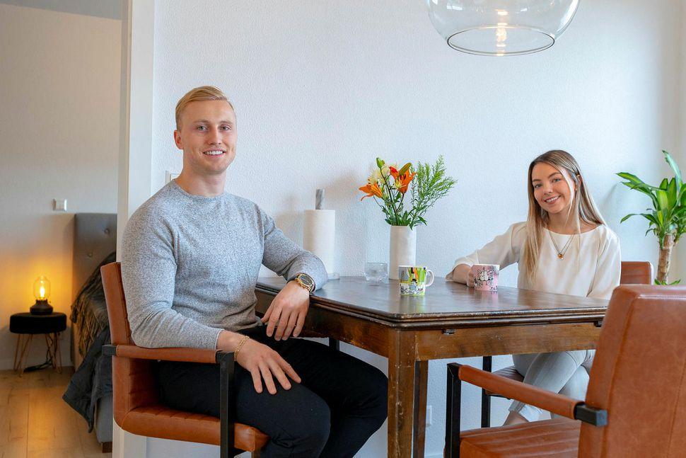 Sigurjón Kári Sigurjónsson og Sóley Ósk Erlingsdóttir.