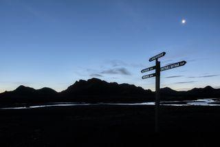 Ferðamönnum á Laugaveginum fækkaði úr 15 þúsund á síðasta ári niður í um 12 þúsund ...