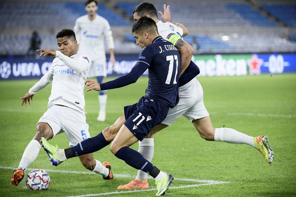 Hart barist hjá Lazio og Zenit.