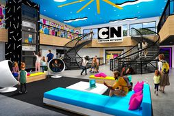 Aðdáendur Cartoon Network-sjónvarpsstöðvarinnar fá eitthvað fyrir sinn snúð á nýja Cartoon Network-hótelinu í Bandaríkjunum.