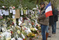 130 manns létu lífið í hyrðjuverkunum í París í nóvember 2015.