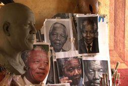 Mandela steyptur í vax