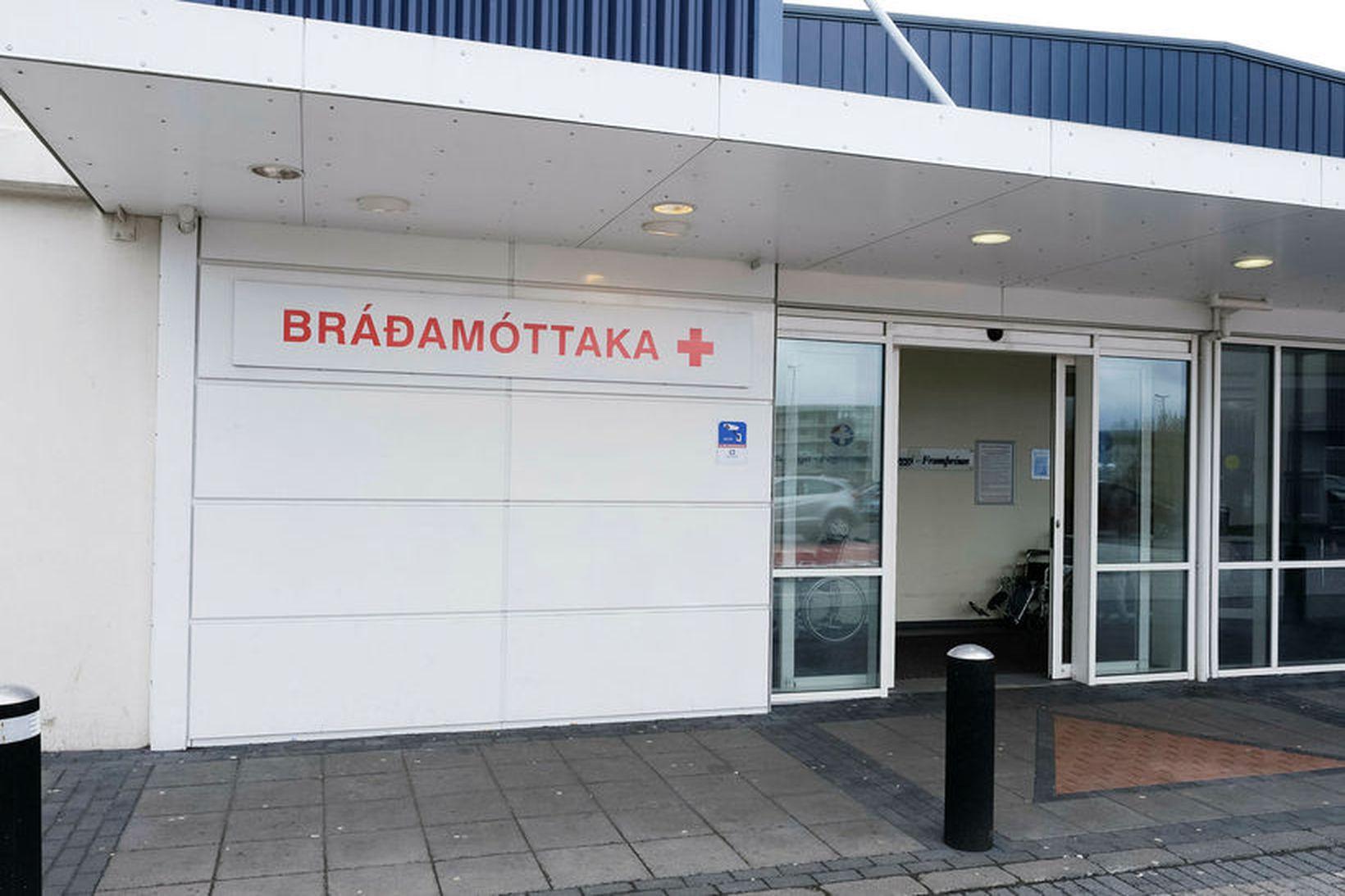 Bráðamóttaka Landspítalans í Fossvogi.