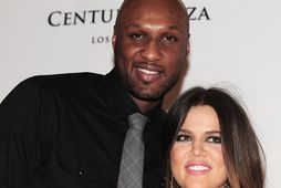 Lamar Odom og Khloe Kardashian þegar þau voru gift.