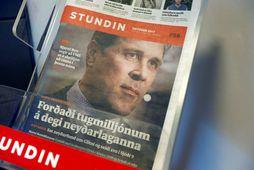 Lögbannsmál Glitnis gegn Stundinni og Reykjavík Media var tekið fyrir í Hæstarétti í dag.