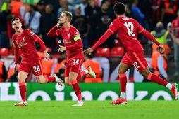 Liverpool hefur skorað níu mörk gegn einu í fyrstu fjórum leikjum sínum í úrvalsdeildinni, ásamt …