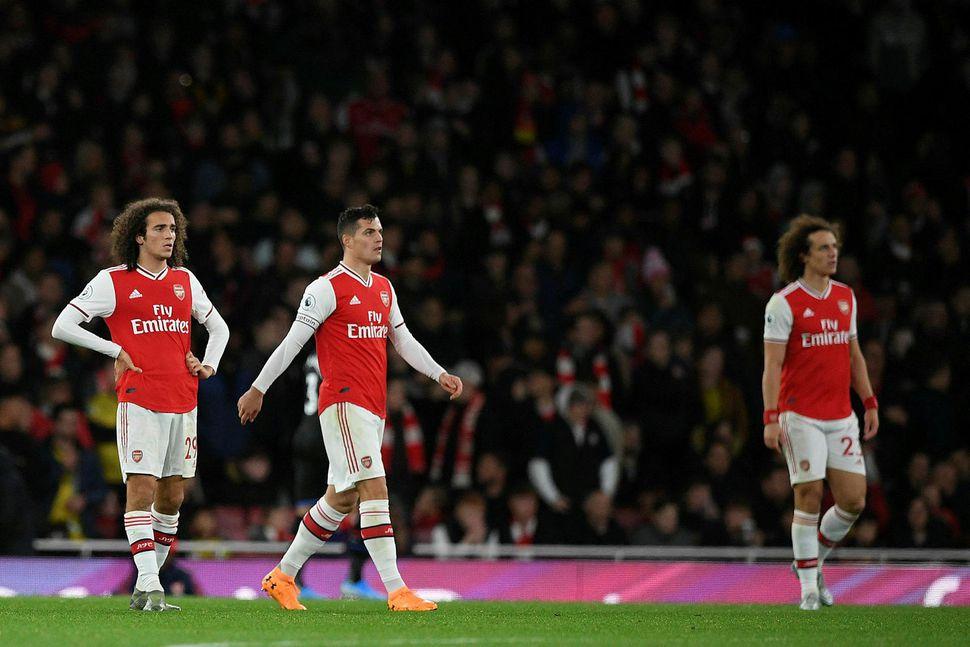 Granit Xhaka hefur hugsanlega spilað sinn síðasta leik fyrir Arsenal.