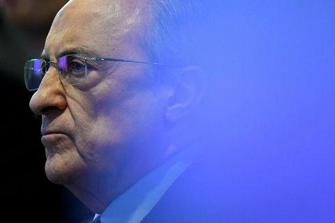 Florentino Pérez, forseti Real Madrid, hefur verið mikið í umræðunni undanfarna daga.