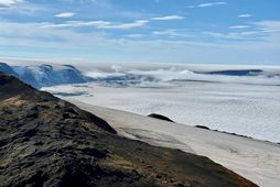 View of Grímsvötn from Grímsfjall mountain.