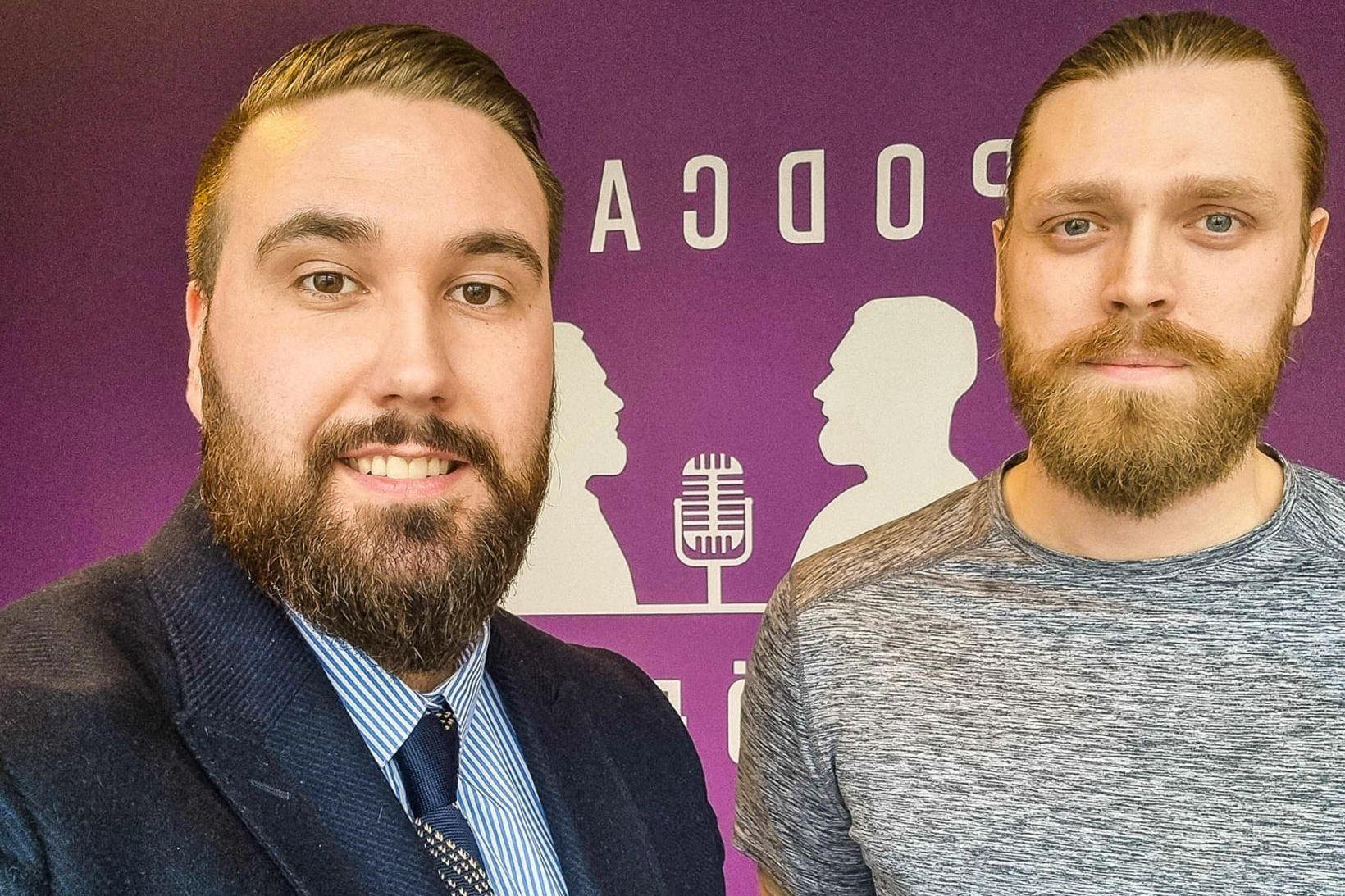 Gunnar Bersi Björnsson og Alexander Maron Þorleifsson fjalla um föðurhlutverkið …