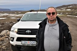Bjarki Laxdal hjá Íslenskum aðalverktökum.